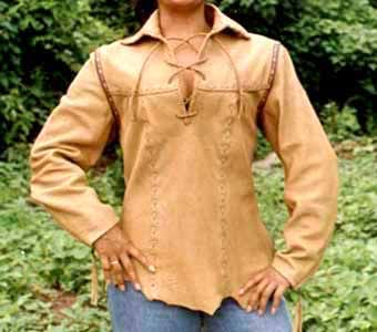 Great deerskin shirt