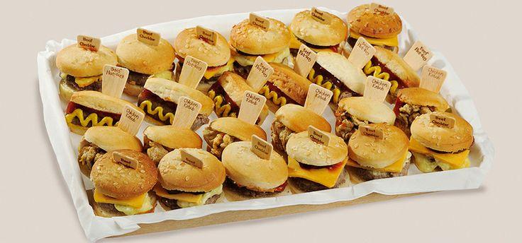 Nuevo Mix de Mini Burger & Mini Hot Dog, la revolución del catering