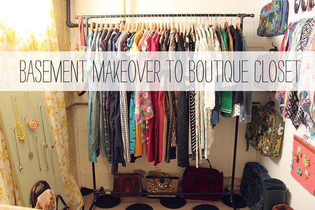 This post has ideas for pretty much any sort of clothing/accessory organization you could ever need, whether you have plenty of space or none!