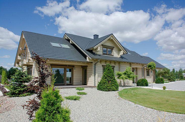 Domy z bali pod klucz - Domy drewniane  Czytaj: http://www.liderbudowlany.pl/artykul/249/Domy_z_bali_pod_klucz #house #dom #domy