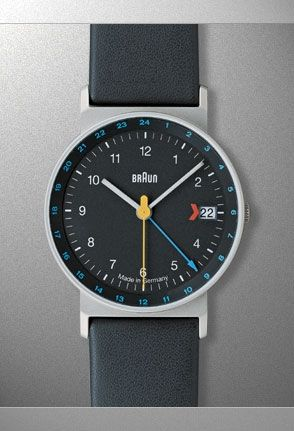 "Too many days with the same black or brown watch? Braun - AW24 ""Grey Band"""