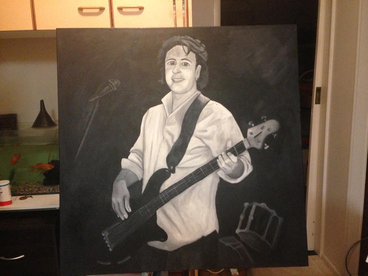 Acrylic Black & White Commissioned may2013
