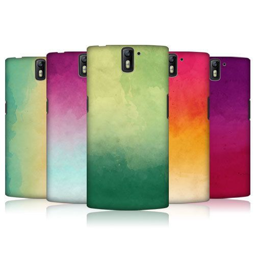HEAD CASE DESIGNS WATERCOLOURED OMBRE HARD BACK CASE FOR ONEPLUS ONE #HeadCaseDesigns