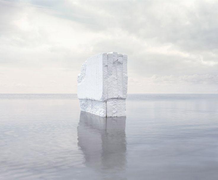 'iceberg', 2012 by noémie goudal