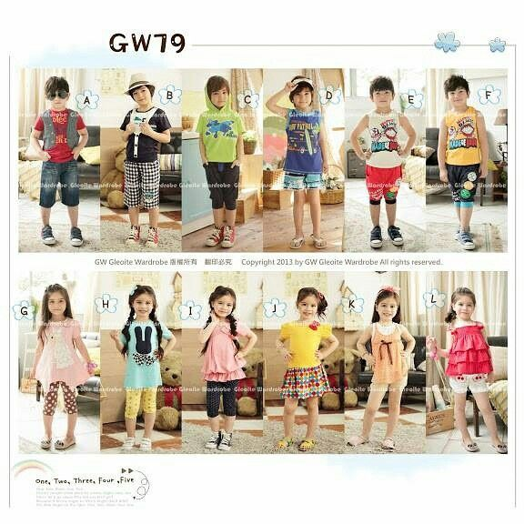 GW79 FASHION STYLE SIZE 95-140 FOR 2T-7T
