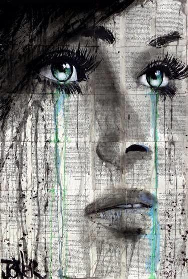 Pensé que era fuerte, que mi alma comenzaba a reconstruirse, pero me desperté y no pude contenerme más ... Pues tu ausencia quemaba mi alma triste y vacía.
