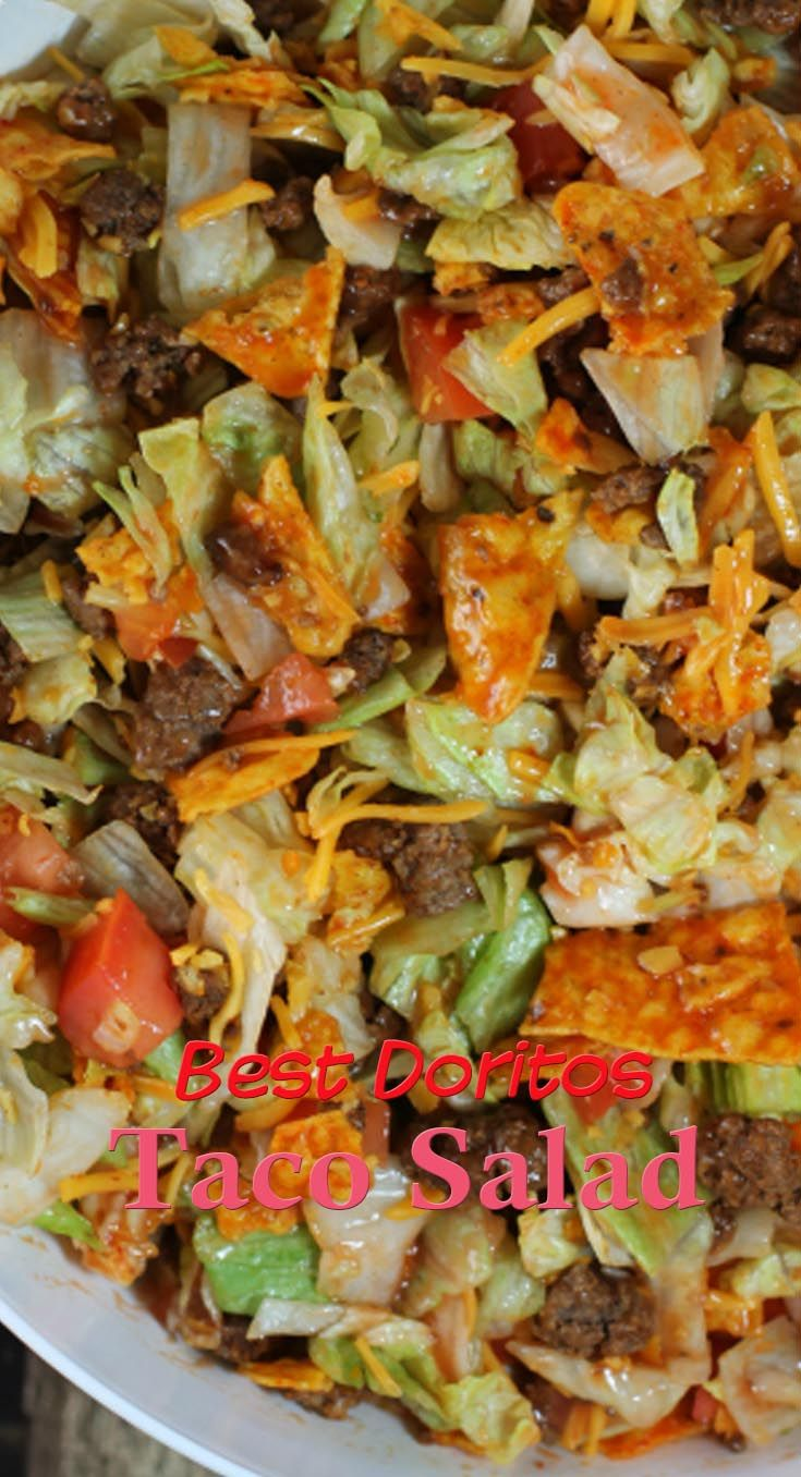 Best Doritos Taco Salad