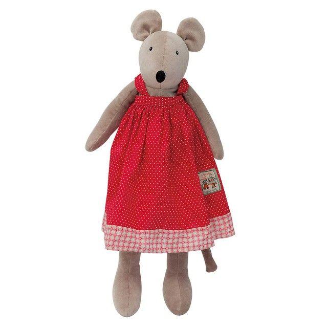 Un cadeau pour Noël ♥  Nini la souris 'les Parents' MOULIN ROTY