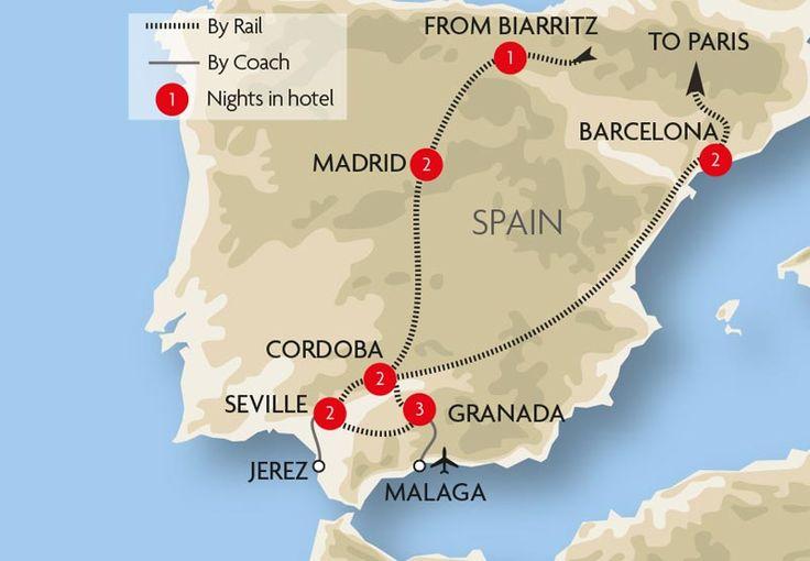 Andalucian Explorer Map