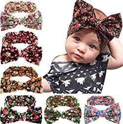 Kids Infant Baby Girl Hair Bows Headbands Hair Bands Knot Turban HeadwrapsPay Only $2.99 after code!!Code 6SBOYFHP