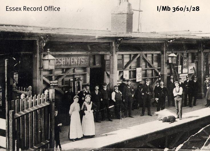 Riverside Station, Tilbury, 1920
