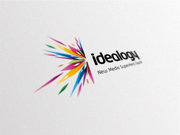 Idealogy Logo by Brandberry, via Behance
