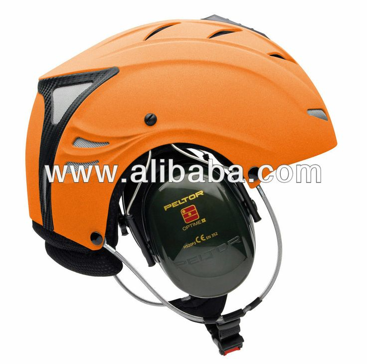 ORANGE Icaro FLY-UL Deluxe Com PPG Helmet for Powered Paragliding and Paramotor
