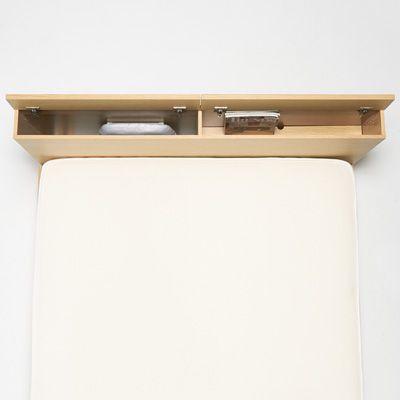 storage headboard box type double oak bed speicherkopfbrettlagerbetteneichenbettenmuji mbelbett kopfteile bcherschrnkeregale - Hausgemachte Kopfteile Mit Regalen
