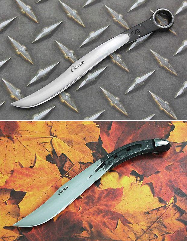 Нож из хлама