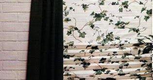 CÓMO HACER UNA CORTINA VENECIANA         MATERIALES          1.50 m de tela de algodón de tapicería  1.50 m de entretela termoadhesiva  2....