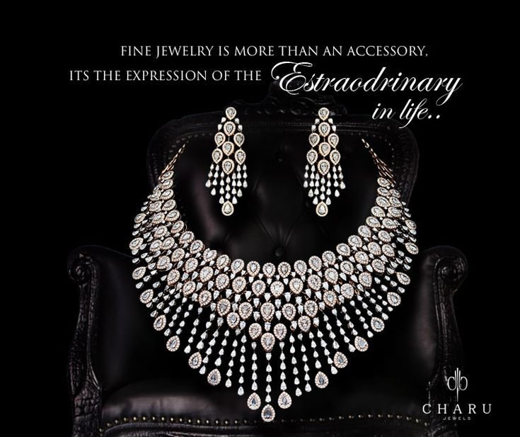 #exclusive #Real #diamond #jewelry #wedding #collection from #Charu #jewels  #traditional #Indian #jewelry #necklace #bangles #earrings