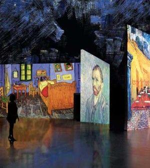 Van Gogh Alive, un viaggio multimediale attraverso l'universo creativo dell'artista olandese