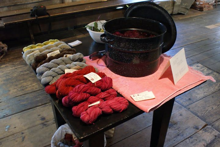 Dyeing with Pokeberries « Osborn Fiber Studio