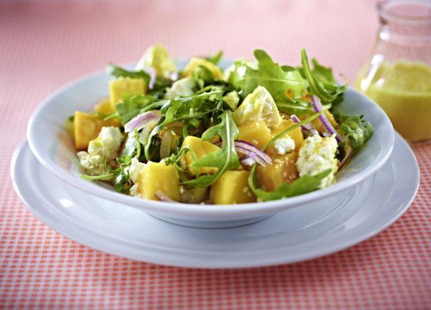 Unser beliebtes Rezept für Mangosalat mit Feta und mehr als 55.000 weitere kostenlose Rezepte auf LECKER.de.