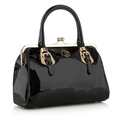 Black Knightsbridge Midi bag