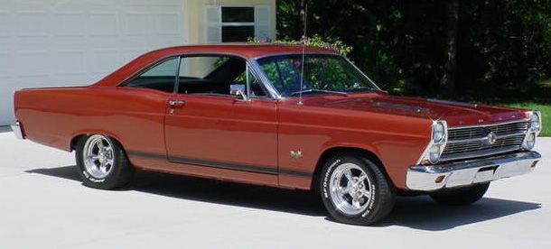 1966 Ford Fairline GTA 428 Super Cobra Jet