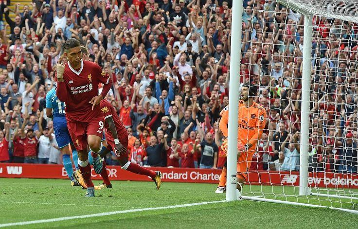 @officiallfc Firmino #PL #PremierLeague #LIVARS #LiverpoolArsenal #LFC #Liverpool #LiverpoolFC #Mane #Salah #Firmino #Sturridge #Reds #9ine