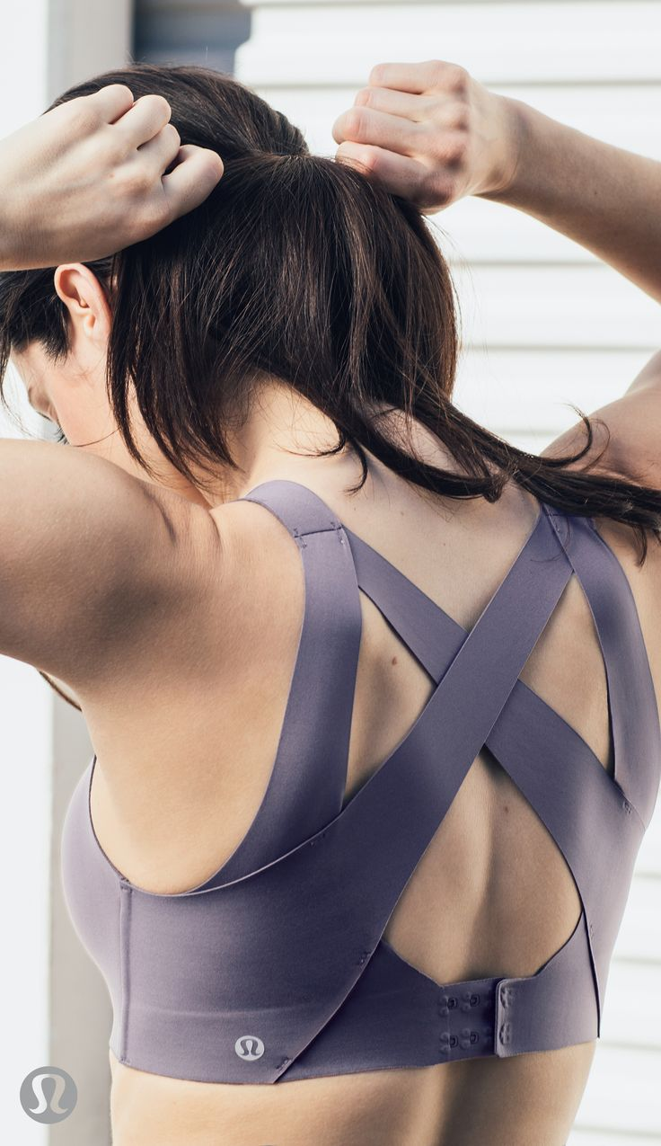 Be free to move in the new lululemon Enlite Bra.
