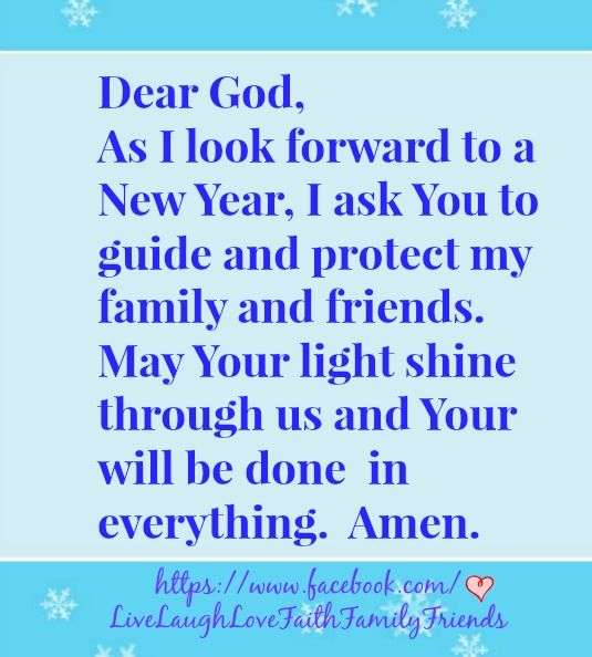 prayer new year saying