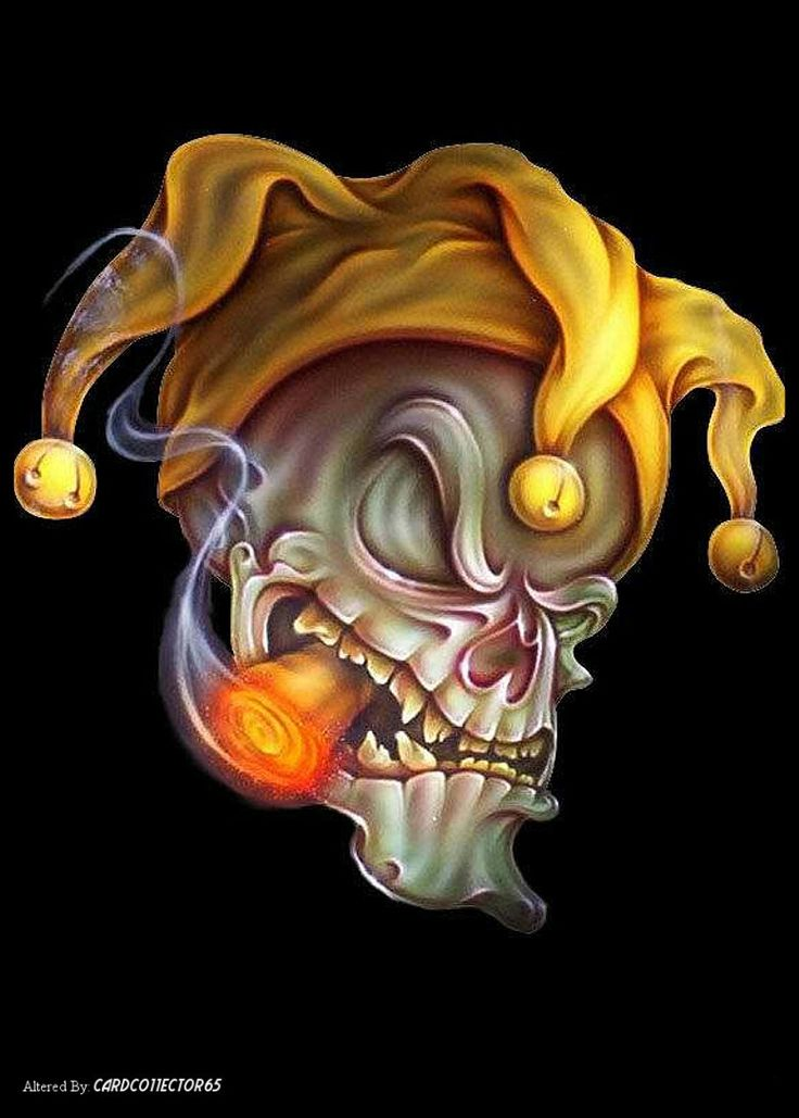 Joker Skull - MTG - Sleeves