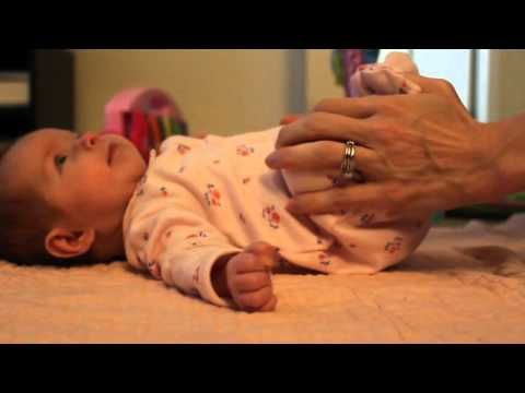 Baby Massage & Stretching Demonstration - YouTube