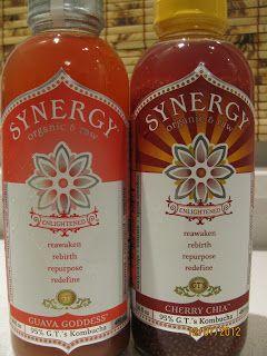 GT's Synergy Organic Raw Kombucha