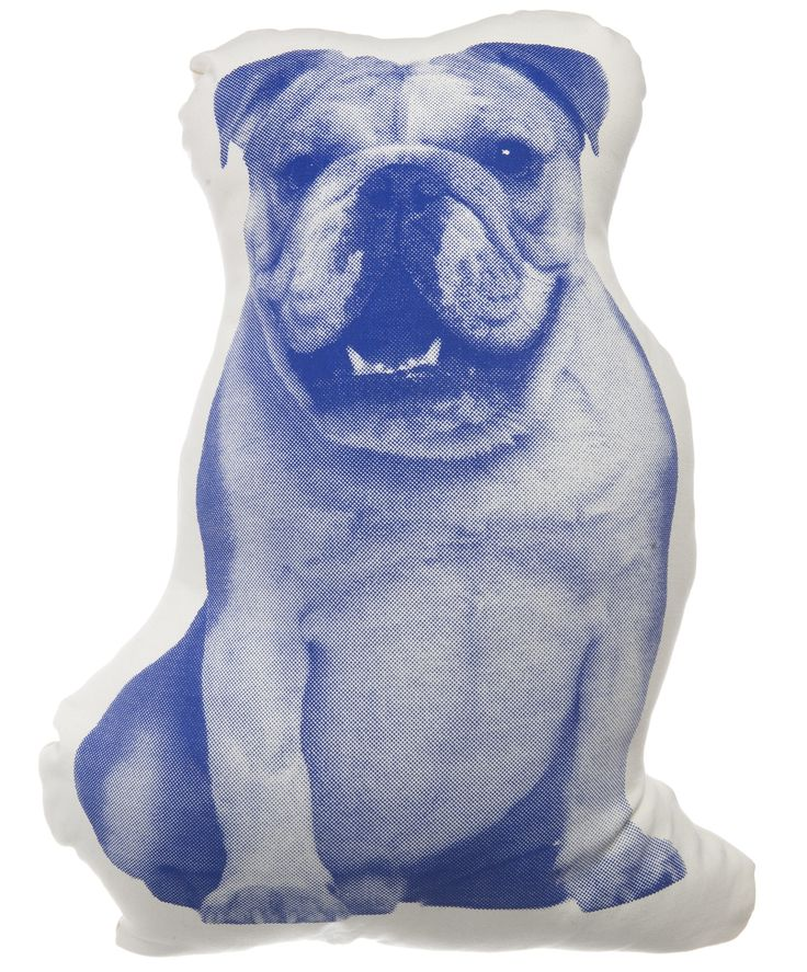 MINI English Bulldog Throw Pillow