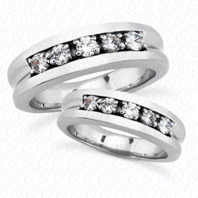 Matching Wedding Band Set
