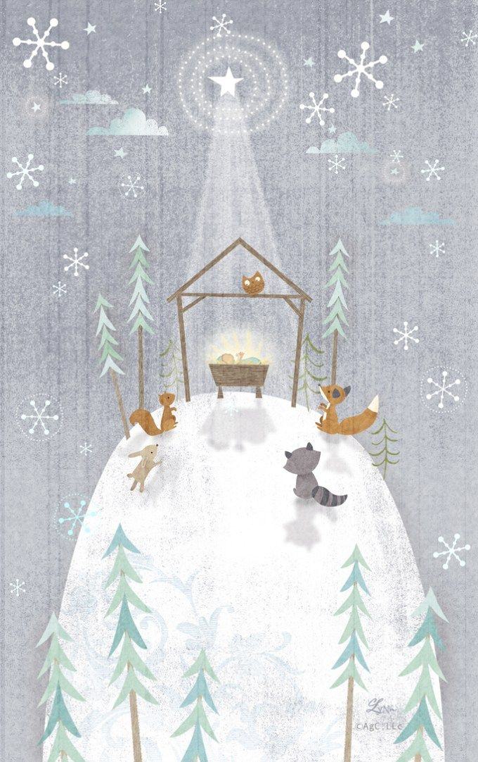 Christmascard Countdown seen on HappyMakersBlog.com ~ Illustration : lynngainesdesign