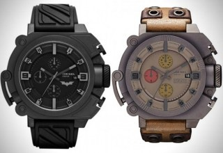 Batman and Bane Limited Edition Watches by Diesel...cool guy stuff