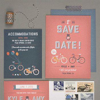 クリエイティブなアイデアを形にした、結婚式招待状デザインまとめ