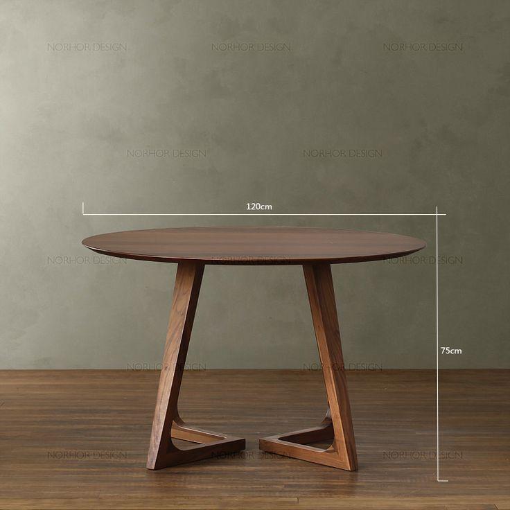 北欧表情/传世经典/北美黑胡桃木家具/汉塔森实木 · Unique Wood FurnitureConcrete FurnitureFurniture  DesignTable And ...