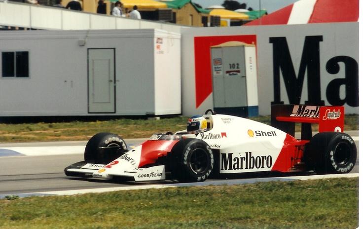 Keke Rosberg, McLaren MP4/2C, 1986