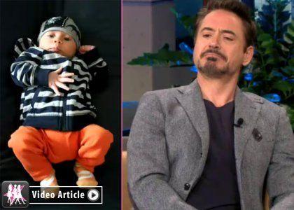 Robert Downey Jr Introduces Exton Elias