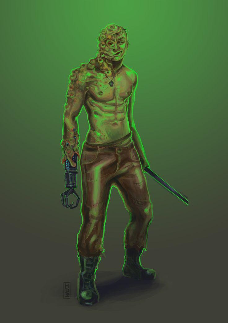 mutant soldier Creatures - Biowars  https://www.artstation.com/artwork/46Vr8