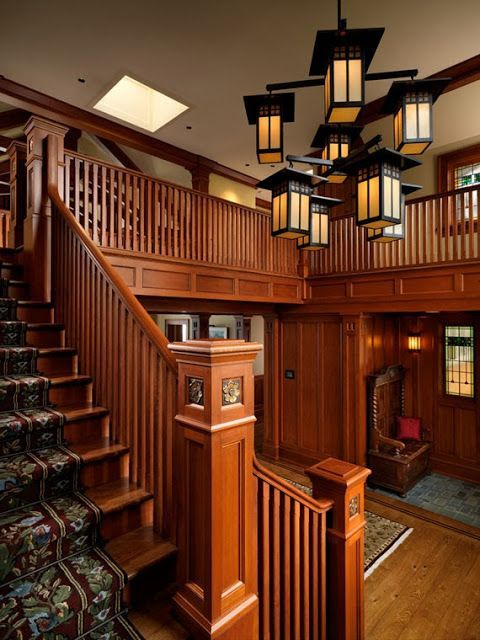 Craftsman Style | Bellitudoo: Schody/Stairs