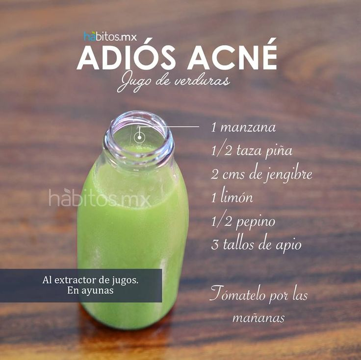 Receta anti acne