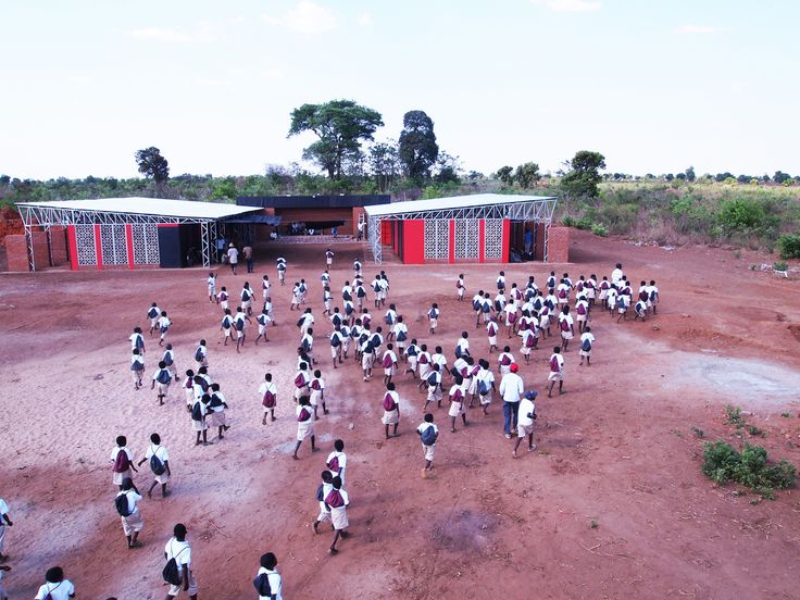 The Legson Kayira Community Center & Primary School / Architecture for a Change