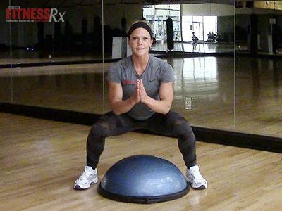 Bosu Ball Plyometrics: Build strength & stamina.  In this Fit Life episode, Nico…