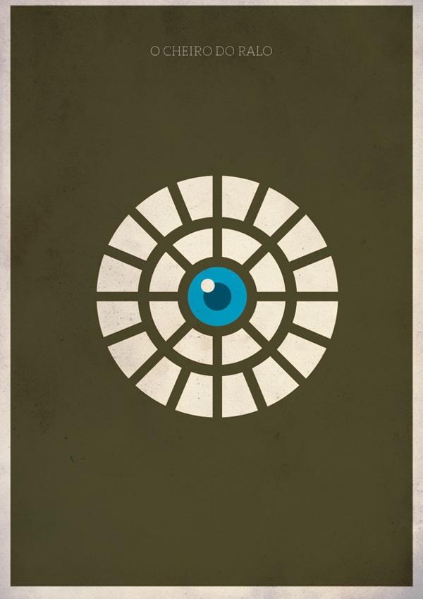 Filmes Nacionais - minimalist collection by Barletta , via Behance