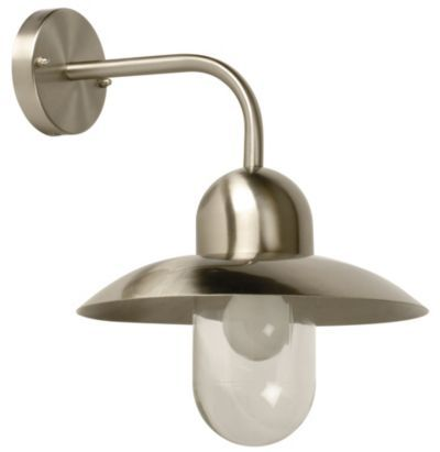 Stainless Steel Hanging Wall Light, 5014838248263
