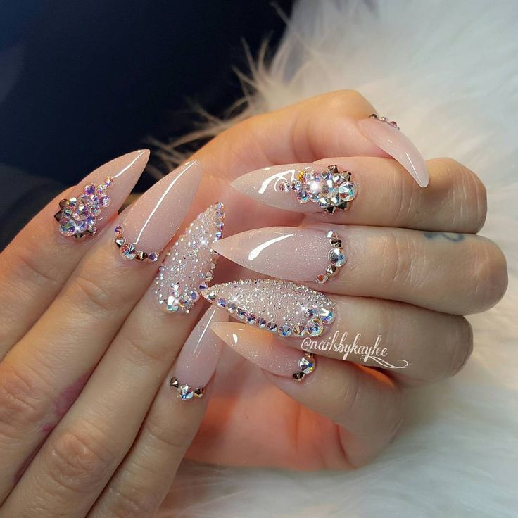 """1,407 Likes, 21 Comments - Licensed Nail Artist (@nailsbykaylee_) on Instagram: """"Not polish❤"""""""