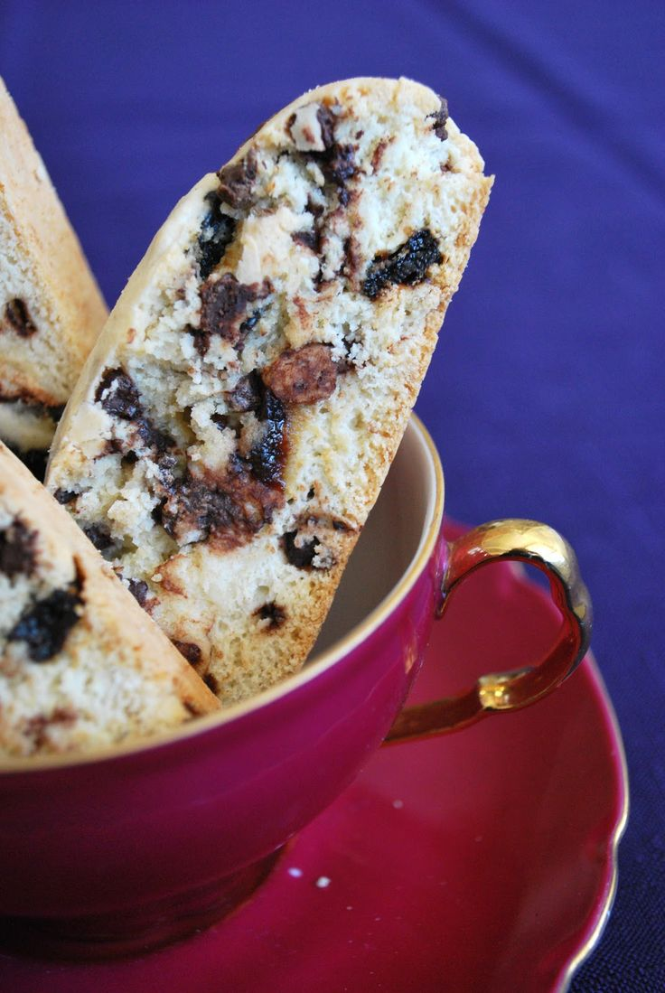 Weight Watchers Chocolate Chip Cherry Biscotti Recipe