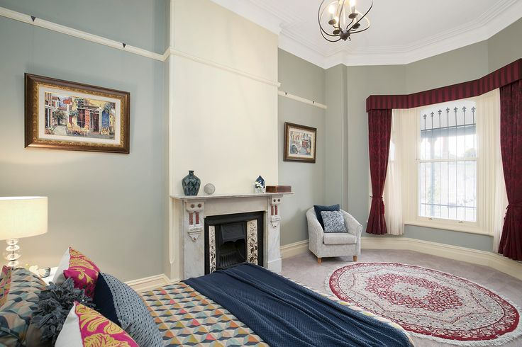 Large double bedrooms, with b/ins